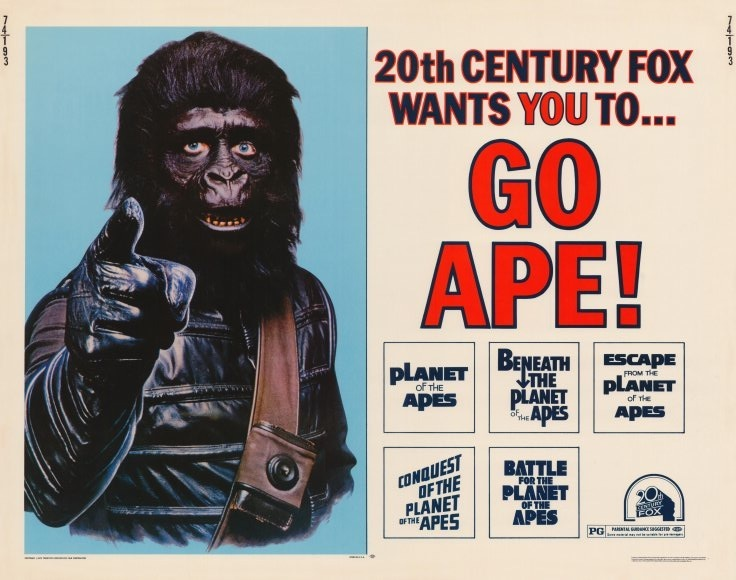 Apes Movies Series Planet of The Apes Movies in
